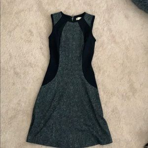 Michael Kors slimming dress in black gray, size 00